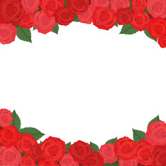 Rose Background, valentine`s Card design