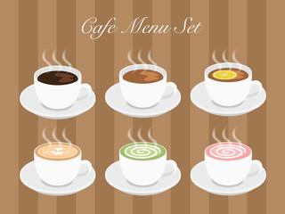 Cafeドリンクメニューセット2