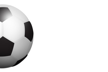 Illustrated Isolated Football Ball