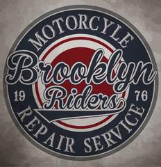 motorcycle. Custom motorcycle label. vintage motorcycle print.
