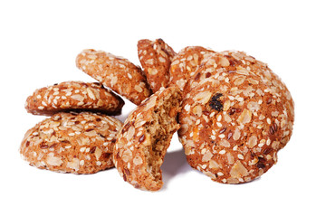 Oatmeal cookies with seeds