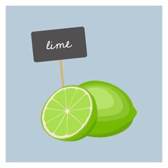 Vector Fruit - Lime