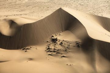 Sand dunes, Sahara Desert, Morocco, North Africa, close up