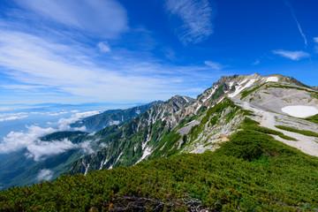 長野 北アルプス 後立山連峰