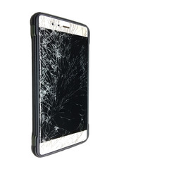 Broke smart phone by accident