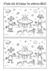 Fehlerbild Außerirdische