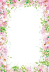 Vector  floral  frame.