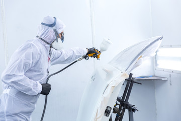 automobile repairman painter