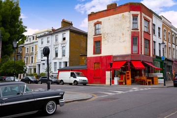 London Portobello road Market vintage magnifying in UK