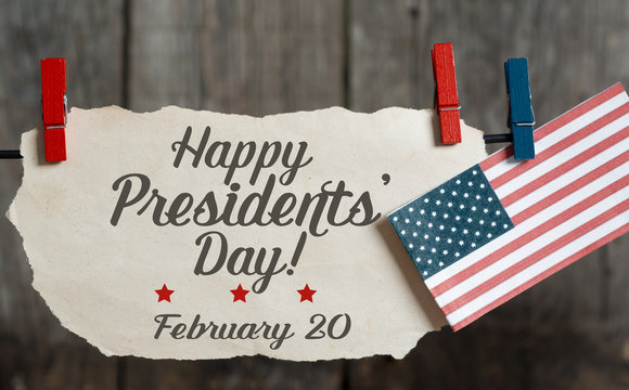 Happy Presidents Day card - American Holidays