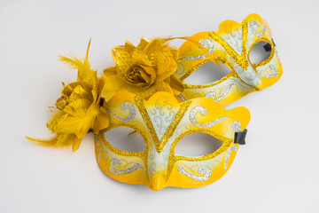 Colorful carnival masks