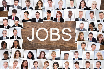 Photos Of Businesspeople Hired For Job