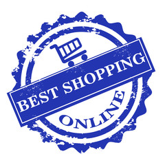 Best shopping online stamp