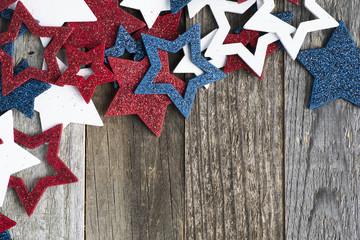 Patriotic Glitter Stars