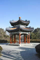 Ancient pavilion in Temple of Heaven