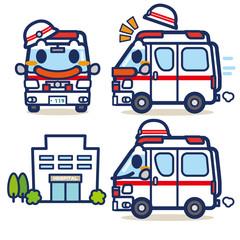 はたらく救急車くん