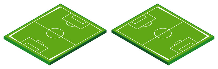3D design for football field