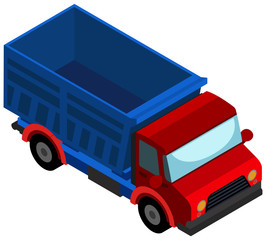 3D design for red truck