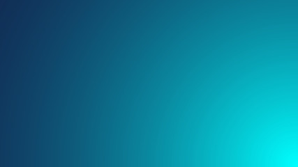 Blue green azure gradient background. vector illustration