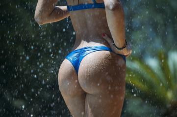 Pretty girl in bikini