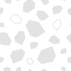 White Texture. White on white. Seamless vector background with abstract geometric pattern. Print. Repeating background. Cloth design, wallpaper.