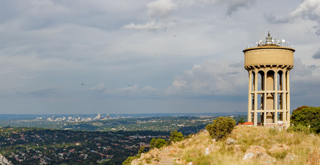 Northcliff View from Water tower toward Sandton