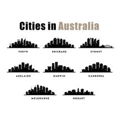 Australia Cities City Tour Travel Skyline