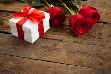 gift on Valentine's Day