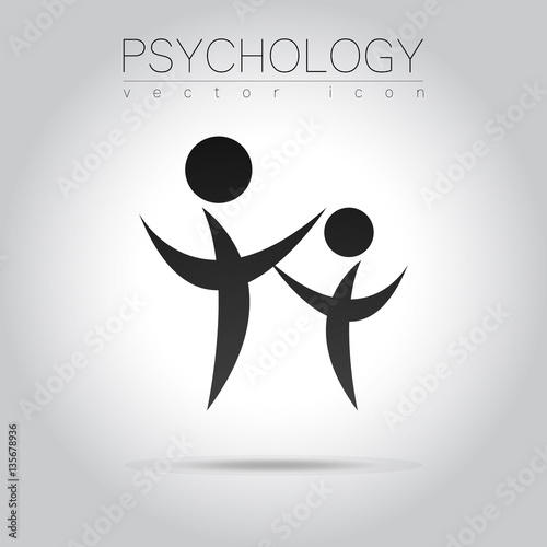 Modern People Psi Sign Of Psychology Family Human