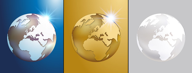 Globe terrestre - Terre - Planète - Monde