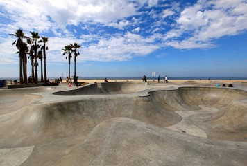 Skate park, Los Angeles