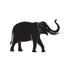 elephant vector icon