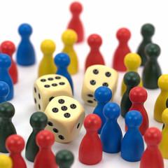 Gesellschaftsspiele,  Glücksspiele