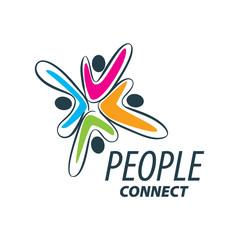 vector logo people