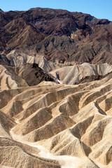 Zabriskie Point, Death Valley, California, USA.