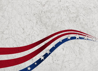 US American flag concept background