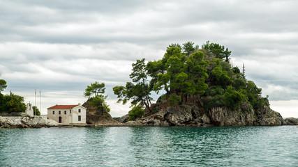 Coast of Greece in the Ionian Sea