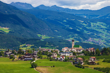 Small town in South Tyrol