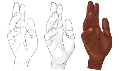 hand activity, hand action