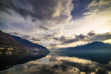 Jezioro Genewskie w Montreux