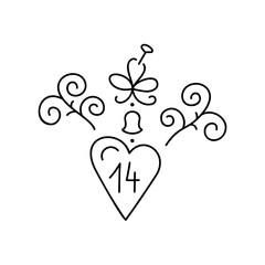 St Valentine icon