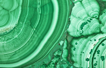 green malachite beautiful texture macro