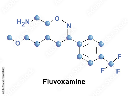 Fluvoxamine is a medication with a selective serotonin