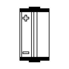 battery energy isolated icon vector illustration design