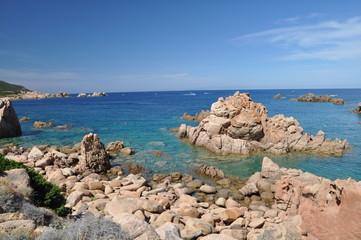 Li Cossi Bay Costa Paradiso Sardinia island Italy