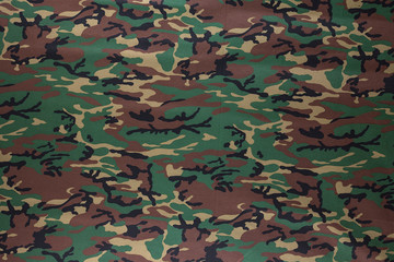 background military camouflage cloth