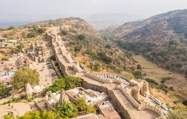 Garden Poster Fortification Kumbhalgarh Fort in Rajasthan
