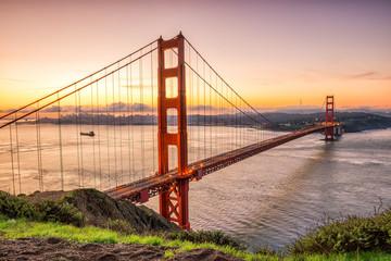 Wall Mural - Golden Gate Bridge in San Francisco