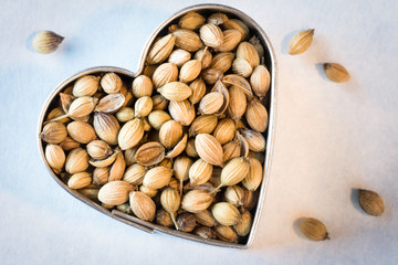 Heart healthy coriander seeds