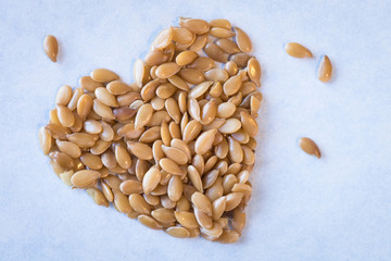 Heart healthy gold flaxseed